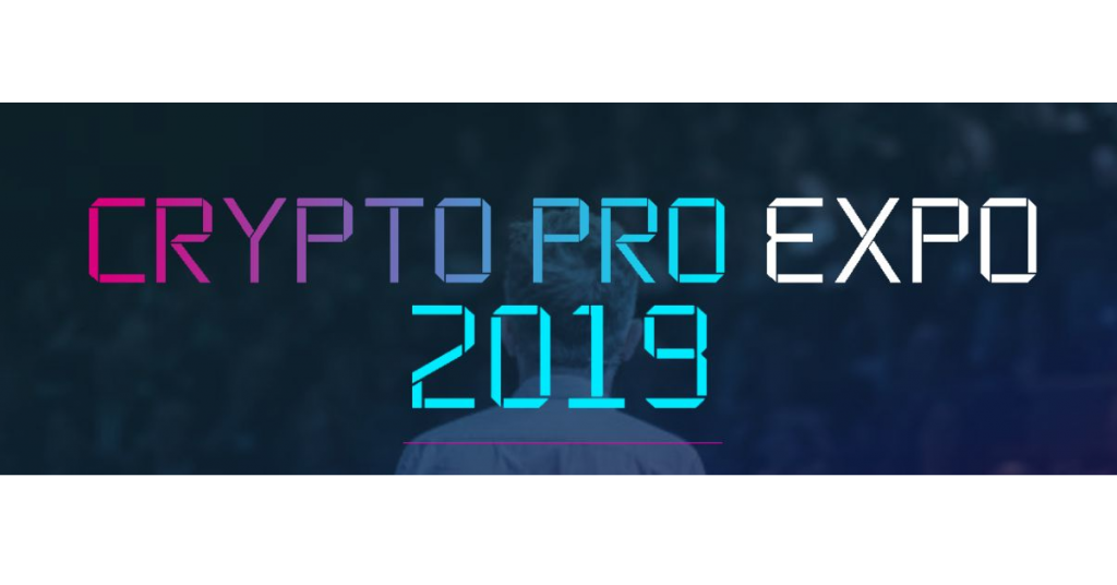 Crypto pro Expo 2019 Blockchain Events Conferences