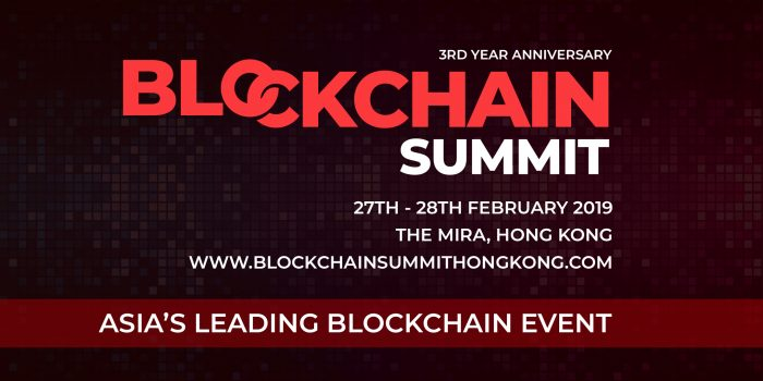 blockchain summit hong kong 2019 conferences february