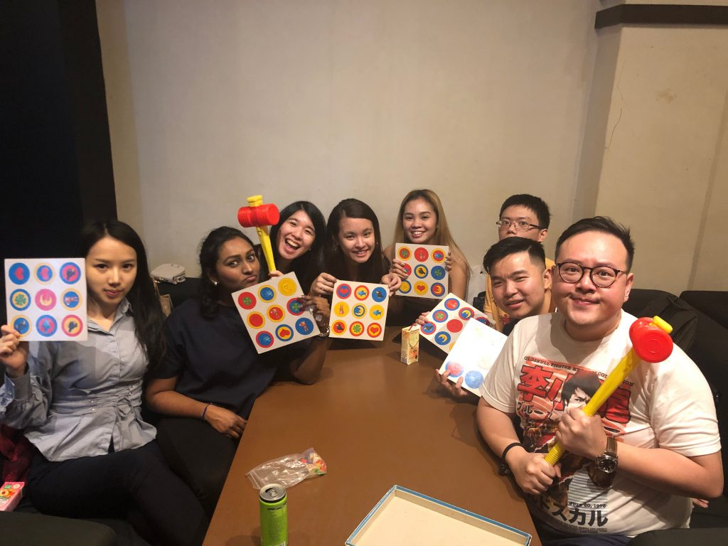 Board Games Fun Company Outing Principal Strategic Team Celebrates Chinese New Year at The Settlers