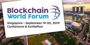 Blockchain World Forum Singapore September 2019 Top Blockchain Events You can't Miss Principal Strategic