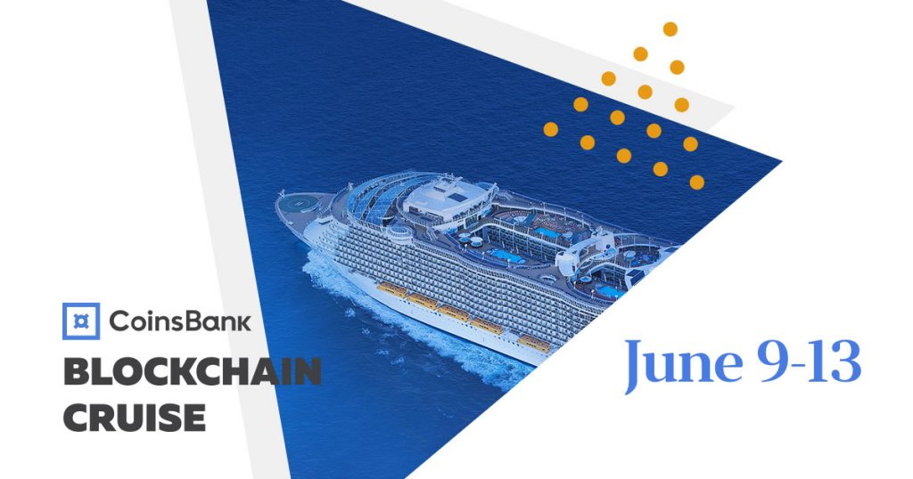 Coinsbank Blockchain Cruise June 2019 Top Blockchain Events You Can Not Miss