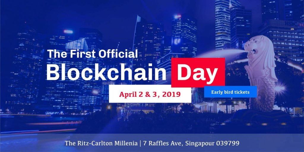 Blockchain Day Singapore 2019 Official Blockchain Events You Can't Miss