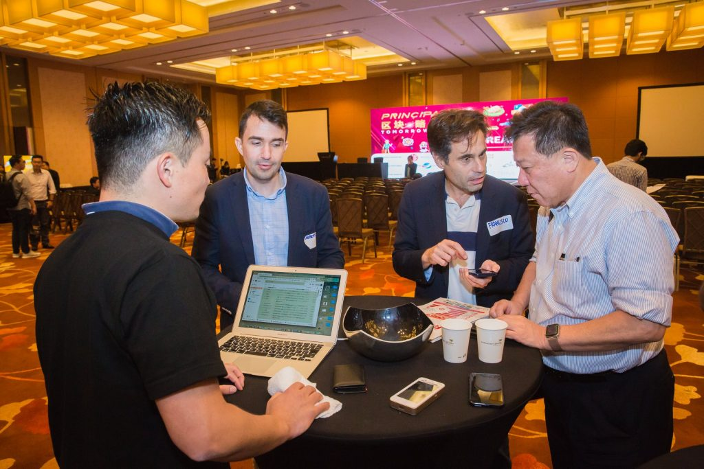 Principality Blockchain Conference hosted by Principal Strategic exhibit Blockchain Projects
