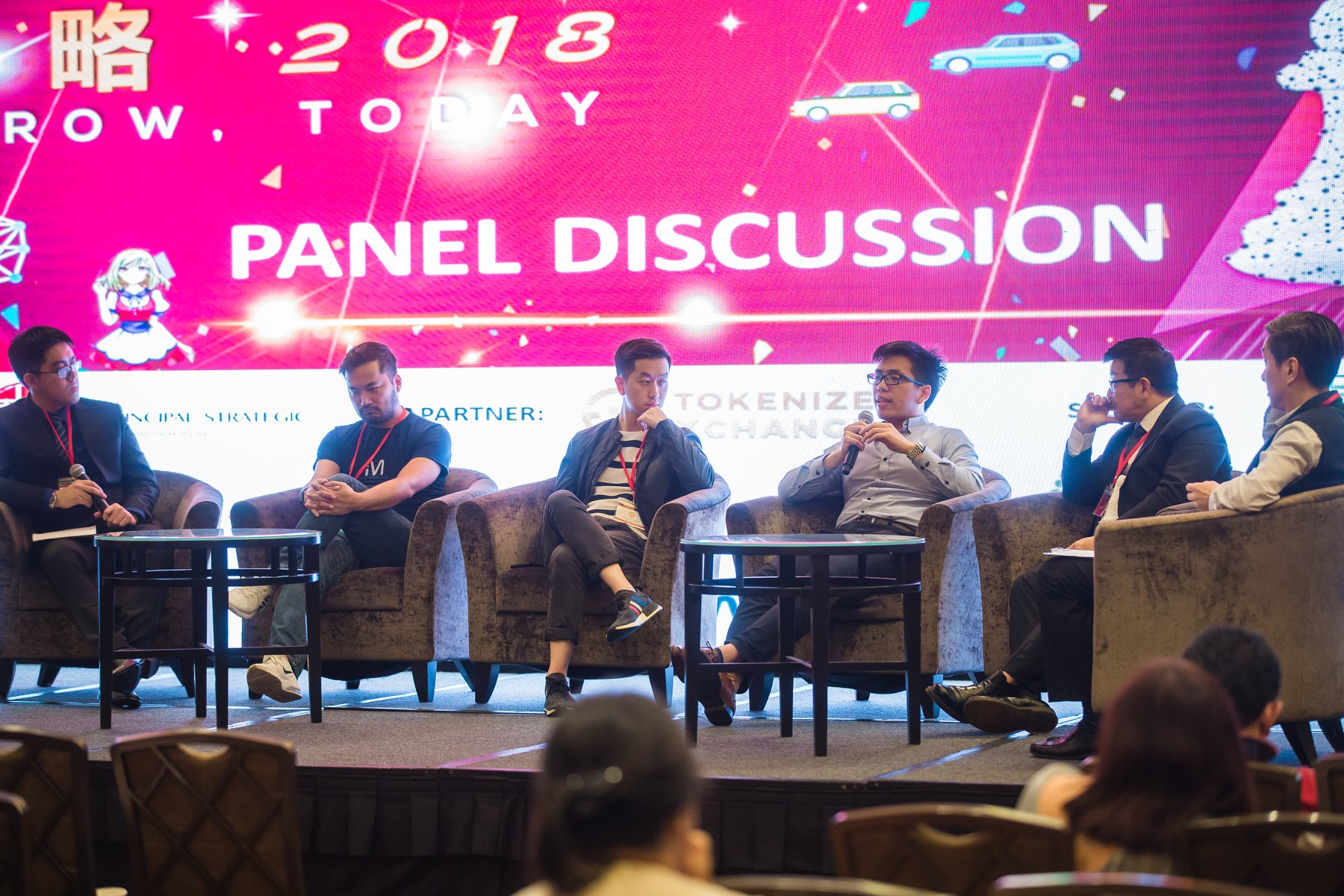 Principality Blockchain Conference hosted by Principal Strategic Panel Discussion
