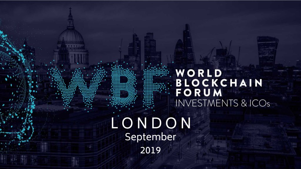 World Blockchain Forum London September 2019 Top Blockchain Events you can't miss Principal Strategic